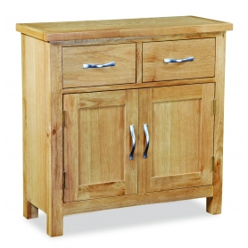 Trent Contemporary Oak Mini Sideboard - 0