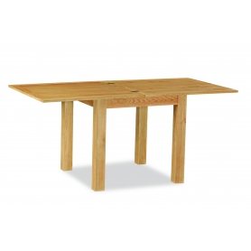 Suffolk Rustic Oak Square Extending Table - 0